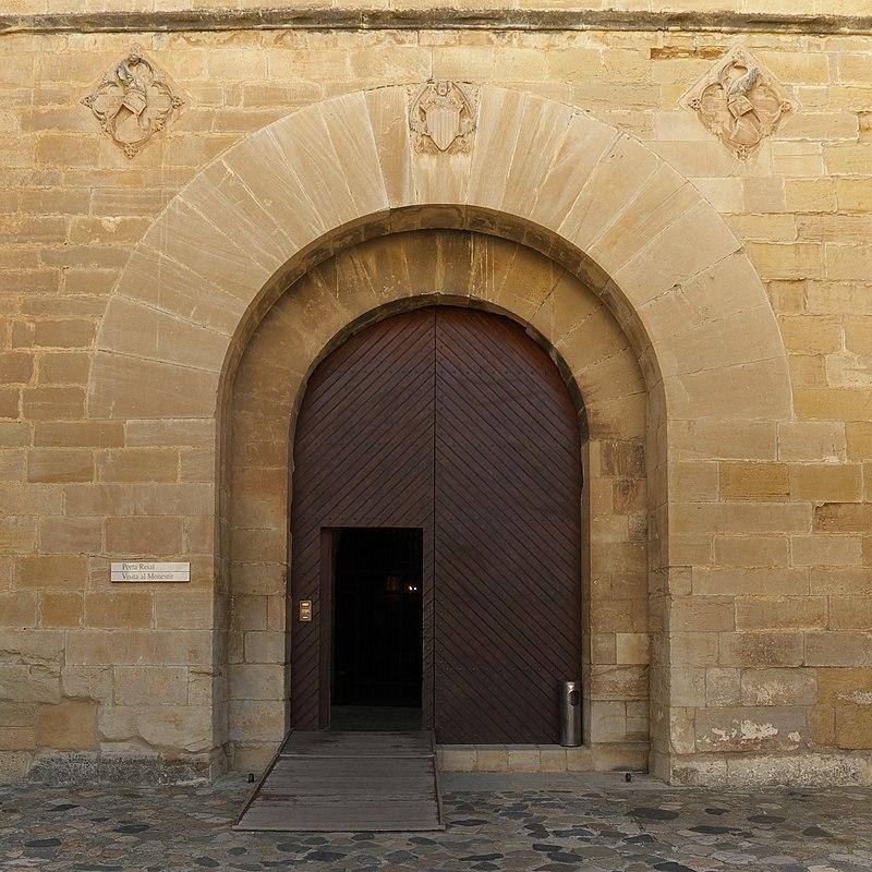 Puerta Real. Monasterio de Poblet.jpg