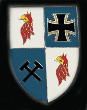 414 Panzer Battalion - Insignia of previous Panzerbataillon 414