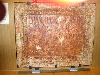 Praetorian Guard - Image: Q.Pomponius Poeninus