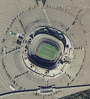 Qualcomm Stadium in San Diego, CA in November ...
