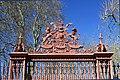 Queen's Gate, a major southern gate of Kensington Gardens, London spring 2013 (4).JPG