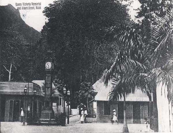 Queen Victoria Memorial Seychelles 1900s