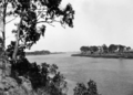 Queensland State Archives 131 Harriet Island and the Burnett River Bundaberg October 1931.png