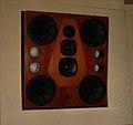 Quested HM412 main monitor, Studio 9000, PatchWerk Recording Studios, 2007.jpg