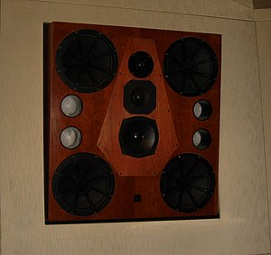 Studio monitor - Quested HM412 main monitor, Studio 9000, PatchWerk Recording Studios