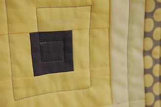 Seam (sewing) - Seams join fabric pieces in this quilt.
