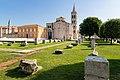 Römisches Forum in der Altstadt von Zadar, Kroatien (48669996548).jpg