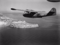 RAF Catalina approaches Europa Point after anti-submarine patrol.png