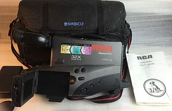 camcorder wikipedia rh en wikipedia org RCA Camcorder Tapes RCA Camcorders On eBay