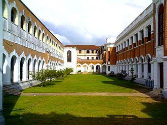 Royal College, Colombo - The Quadrangle.