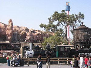 Ghost Town & Calico Railroad - Image: RGS 41 in Knott's Berry Farm