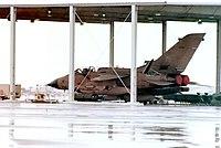 RAF Tornado during Gulf War.
