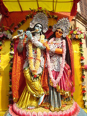 Bhanusimha Thakurer Padabali - The Bhanusimha poems chronicle the romance between Radha and Krishna which is a traditional theme of Indian poetry.