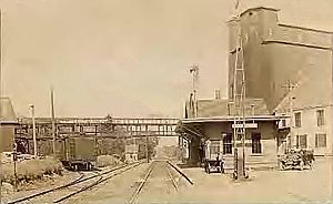 Londonderry, New Hampshire - Image: Railroad Station, Londonderry, NH
