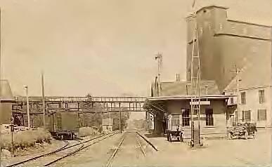 Railroad Station, Londonderry, NH