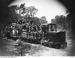 Railway in Seria, Borneo, 12 July 1945.jpg