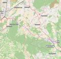 Railway lines Wiener Neustadt, Ebenfurth, Sopron (01).png