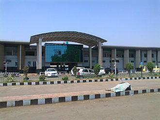 Chhattisgarh - Raipur Railway Station Entrance