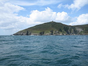 Rame Head - Rame Head from the sea