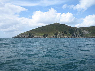 Rame Head - Rame Head from the sea