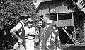 Ravnatelj Orel in Šarfova v pogovoru na Banu 1952.jpg