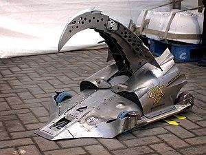 Razer (robot) - Image: Razer side on view