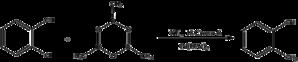 Boroxine - Image: Reaction of Boroxine