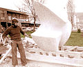 Realisation de la sculpture dans la ville de Zenica.jpg