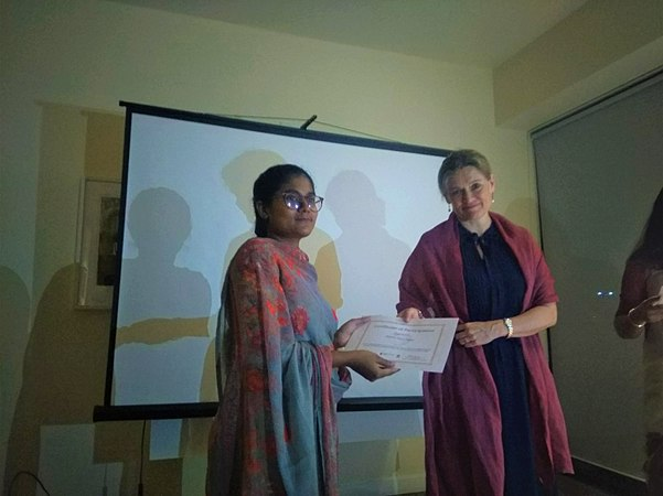 Reception for the WikiGap edit-a-thon 2019 contributors in Bangladesh (9).jpg