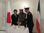 Reception of Japan Self-Defence Force Day in Kuwait 2015 (2).JPG
