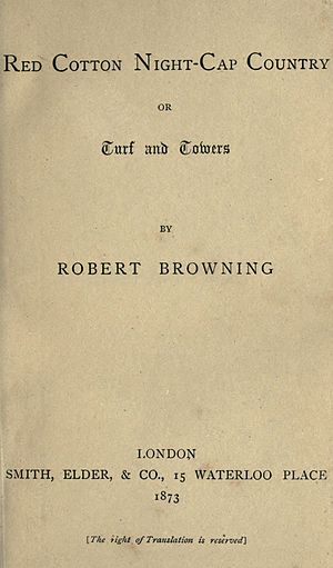 Red Cotton Night-Cap Country - First edition title page