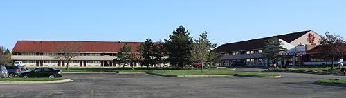 A Red Roof Inn In Ann Arbor, Michigan