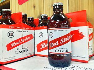 Red Stripe - Bottle of Red Stripe