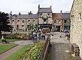 Redman Park gates, Town, Beamish Museum, 28 August 2013.jpg