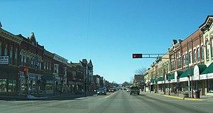 Reedsburg, Wisconsin - Downtown Reedsburg
