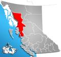 Regional District of Kitimat-Stikine, British Columbia Location.png