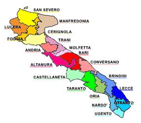 Regione ecclesiastica puglia wikipedia for Politica italiana wikipedia