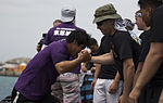 Releasing the beast, SMP competes in annual Dragon Boat Race finals 150505-M-DM081-001.jpg