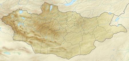 蒙古国在蒙古的位置