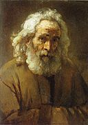 Rembrandt Lighting Study with an Old Man as a Model.jpg