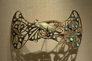 Art jewelry - René Lalique,  brooch. Gulbenkian Museum in Lisbon.