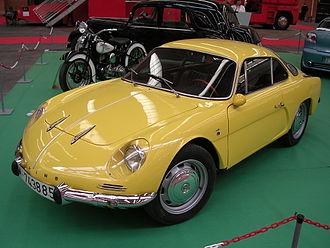 Alpine (automobile) - Alpine A110 Berlinette (1962–1967)