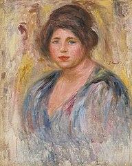 Portrait de femme (Gabrielle Renard)