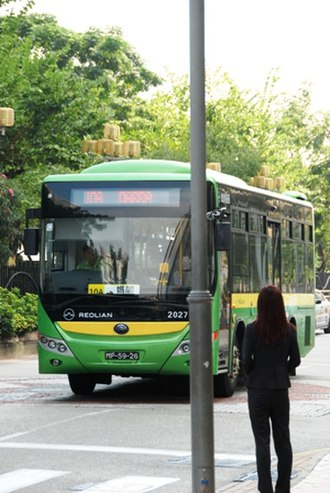 Reolian - ZK6902HG bus used by Reolian in Macau, China