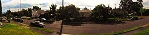 University Park, Portland, Oregon - Image: Res Portland street pan