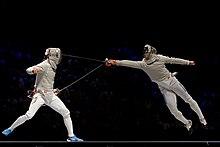 Sabre (fencing) - Wikipedia