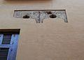 Restes de finestra gòtica del palau dels Escrivà, València.JPG