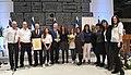 Reuven Rivlin awarding the «President's Award for Education for Partnership» for 201617, November 2017 (1721).jpg