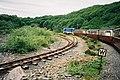 Rheilffordd Ffestiniog Railway Line Spiral - geograph.org.uk - 136181.jpg