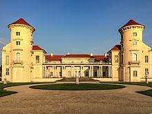 Rheinsberg Palace, Frederick's residence from 1736 to 1740 (Source: Wikimedia)